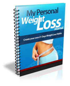 Free Personal Weight Loss Journal